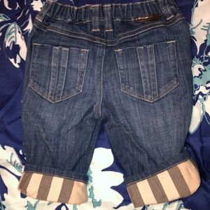 Burberry Bottoms - BURBERRY JEANS INFANT